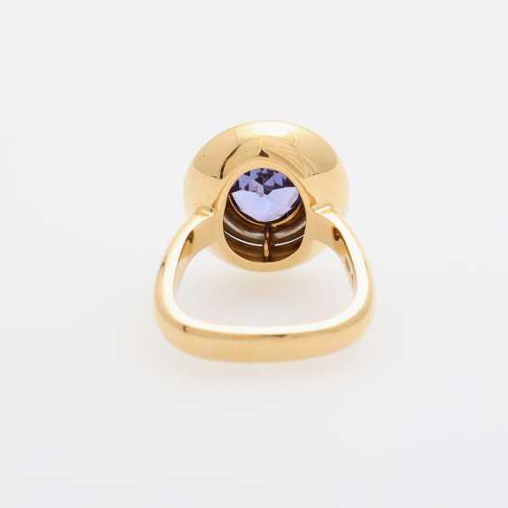KURTZ Ring with tanzanite - photo 4