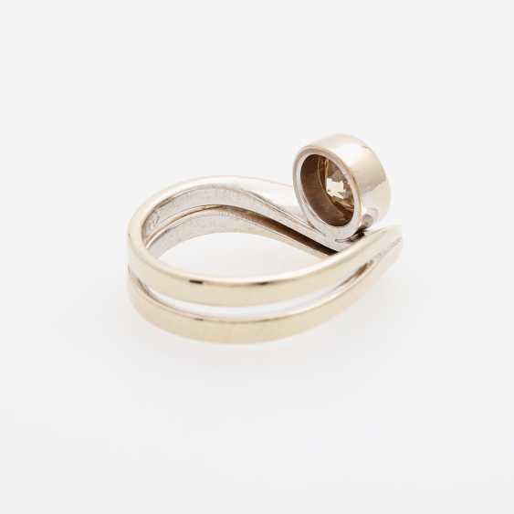 Ladies ring filled m. 1 Diam.-Brilliant - photo 3