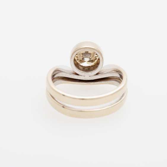 Ladies ring filled m. 1 Diam.-Brilliant - photo 4
