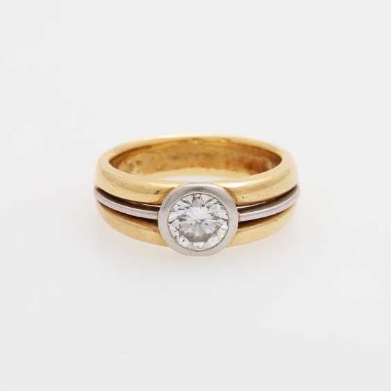 Ladies ring with brilliant-solitaire - photo 1