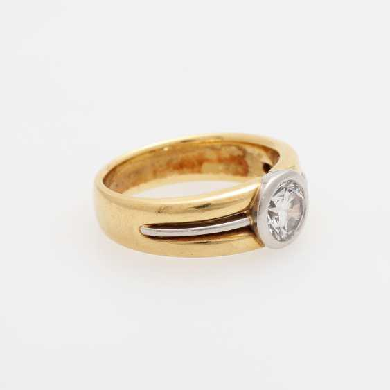 Ladies ring with brilliant-solitaire - photo 2
