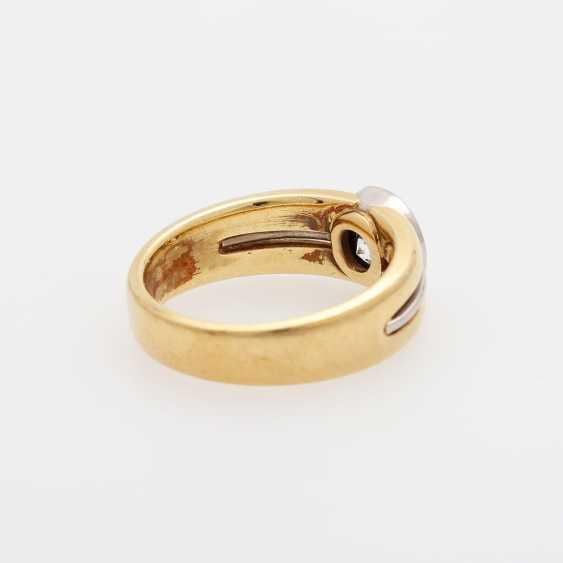 Ladies ring with brilliant-solitaire - photo 3