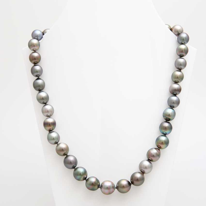 Collier, Tahiti cultured pearls - photo 1