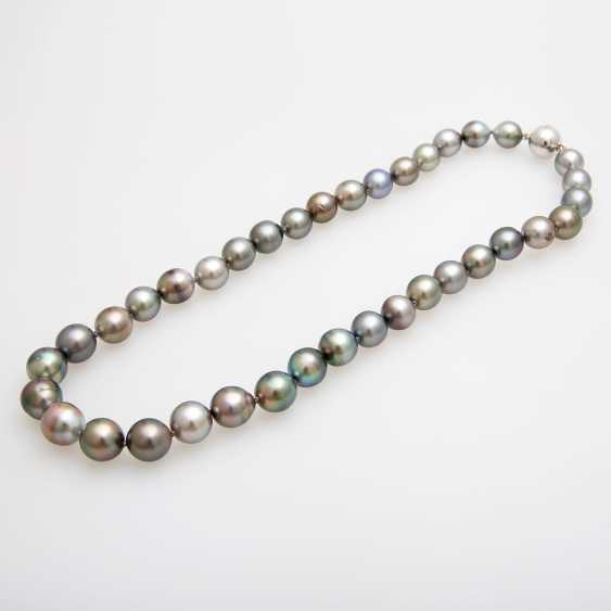 Collier, Tahiti cultured pearls - photo 2