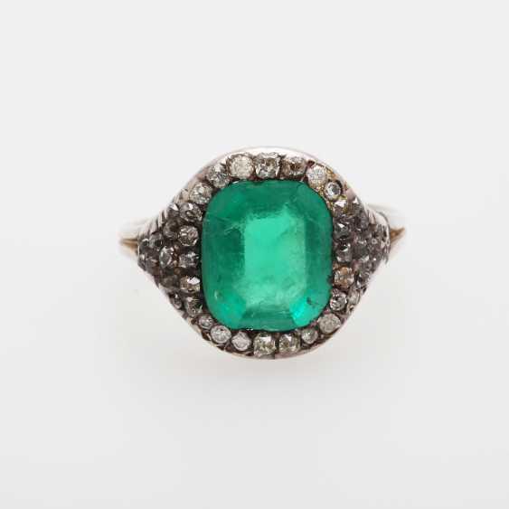 Damenring m. Smaragd ca. 3,7ct - photo 1