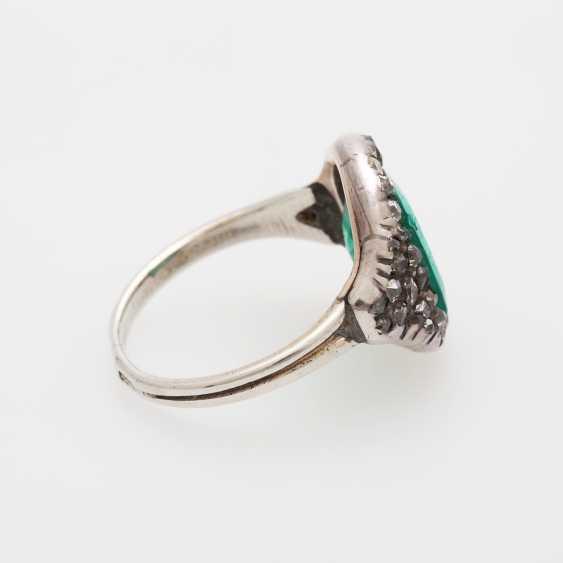 Damenring m. Smaragd ca. 3,7ct - photo 3