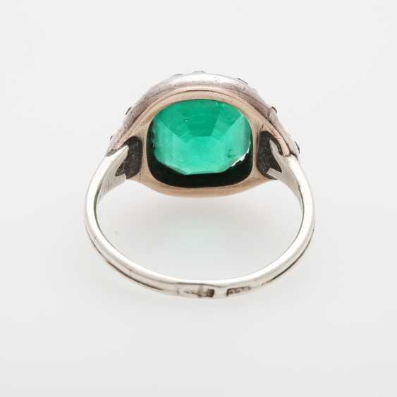 Damenring m. Smaragd ca. 3,7ct - photo 4
