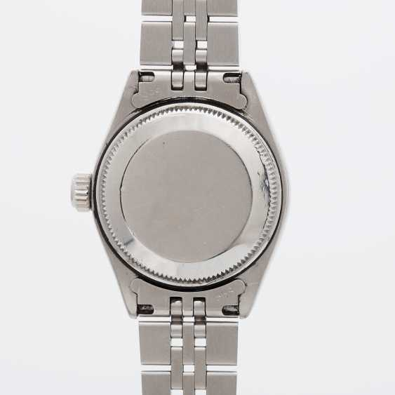 "ROLEX ladies ""Date"", CA. in 1974. Stainless steel. - photo 2"