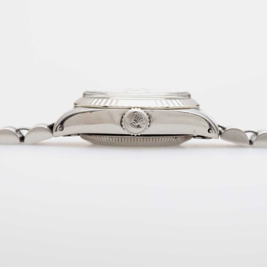 "ROLEX ladies ""Date"", CA. in 1974. Stainless steel. - photo 3"