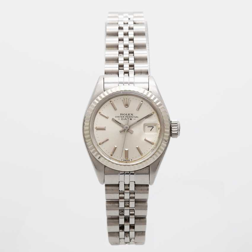 "ROLEX ladies ""Date"", CA. in 1974. Stainless steel. - photo 5"
