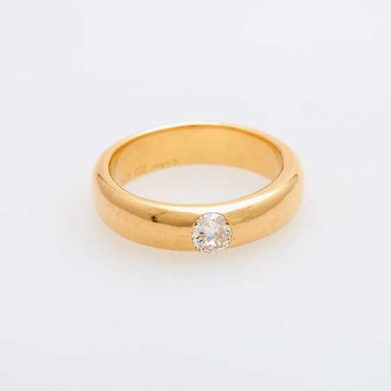 Bandring mit Diamant ca. 0,49ct. - photo 1