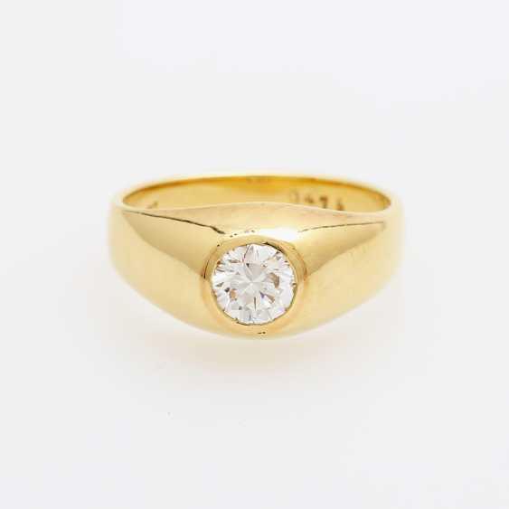 Bandring mit Diamant ca. 0,47ct. - photo 1