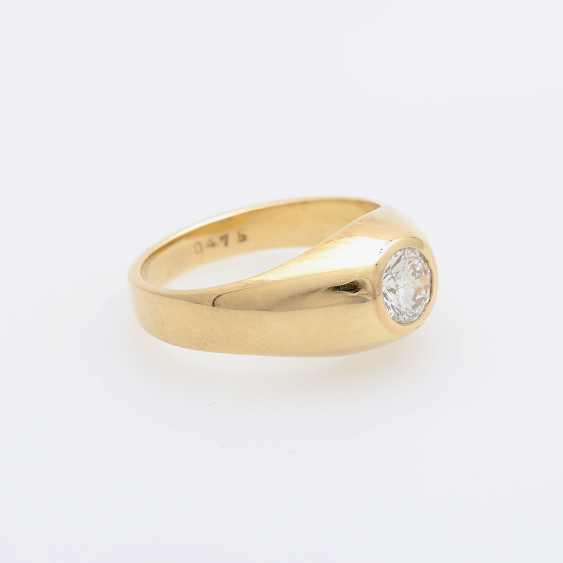 Bandring mit Diamant ca. 0,47ct. - photo 2