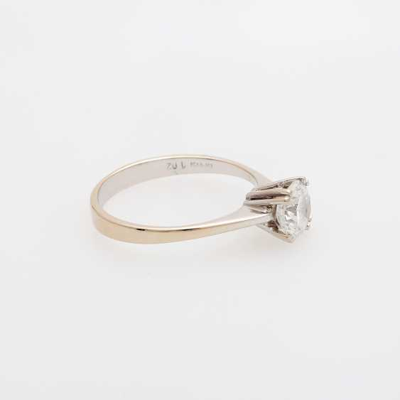 Solitaire ring m. brilliant approx 1,02 ct - photo 2
