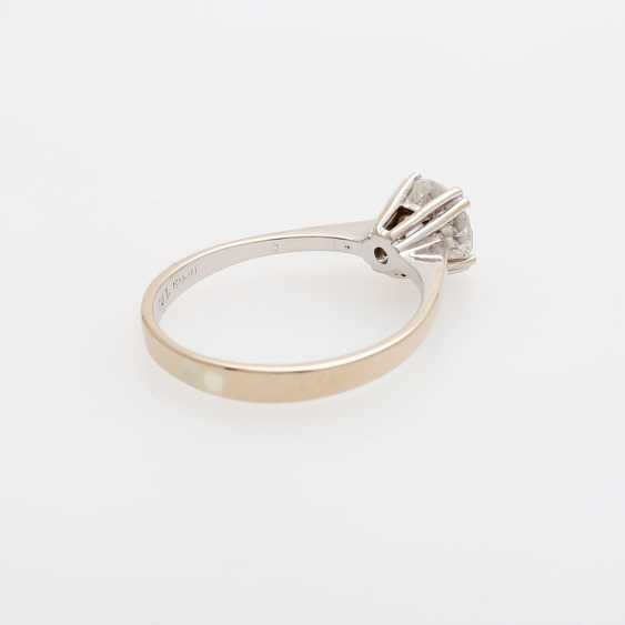 Solitaire ring m. brilliant approx 1,02 ct - photo 3