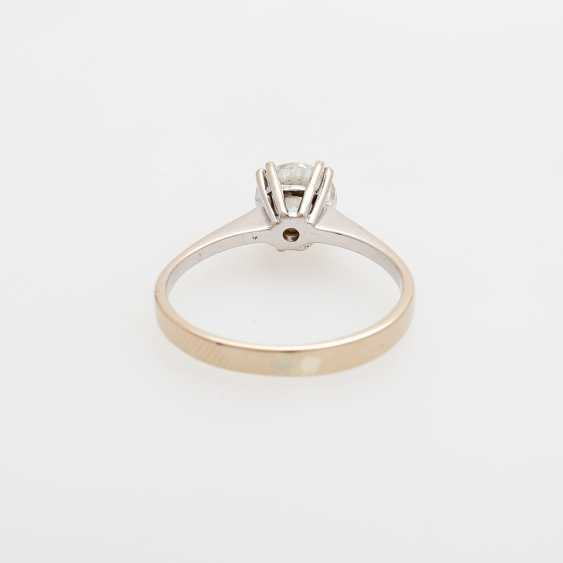 Solitaire ring m. brilliant approx 1,02 ct - photo 4
