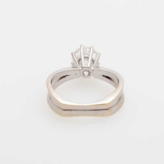 Solitaire ring m. brilliant, approximately 1.2 ct - photo 4
