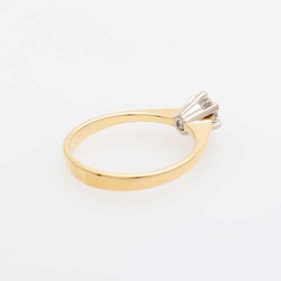 Solitaire ring m. brilliant 0.5 ct - photo 3