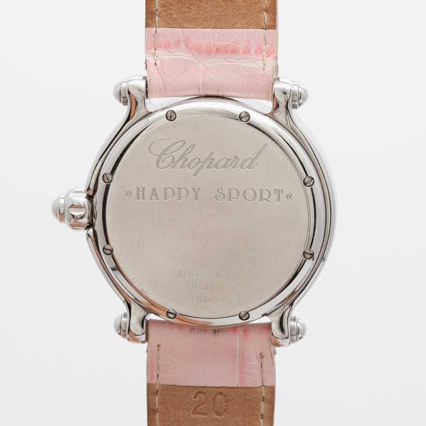 "CHOPARD ladies ' wristwatch, ""Happy sports (Happy Fish)"", stainless steel, quartz movement. - photo 2"