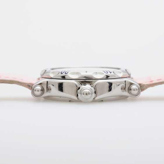 "CHOPARD ladies ' wristwatch, ""Happy sports (Happy Fish)"", stainless steel, quartz movement. - photo 3"
