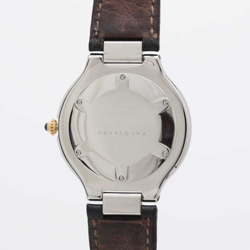 "CARTIER ""Must 21"" watch, CA. 1990s. Stainless steel/gold plated. - photo 2"