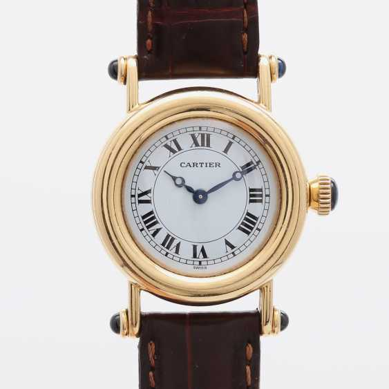 "CARTIER ""Diabolo"" Damenuhr, Gelbgold 18K. - photo 1"