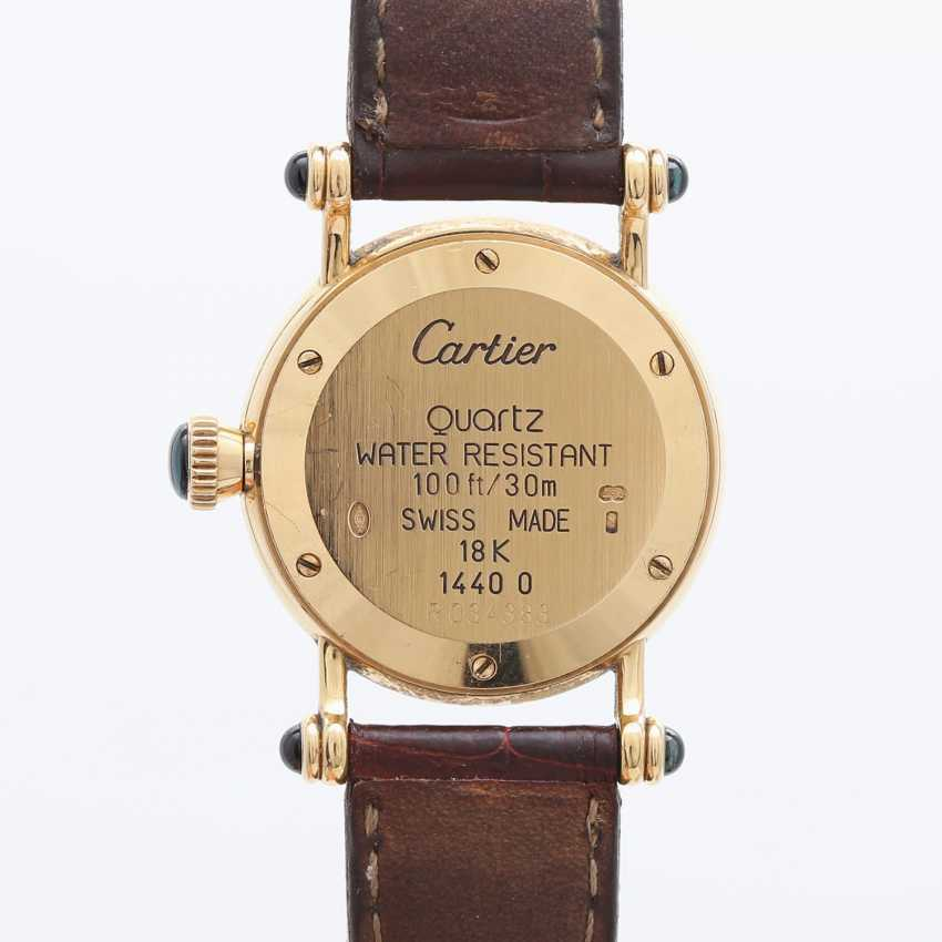 "CARTIER ""Diabolo"" Damenuhr, Gelbgold 18K. - photo 2"