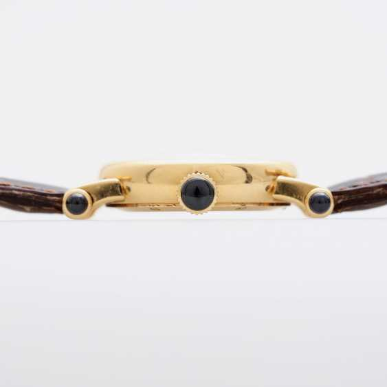 "CARTIER ""Diabolo"" Damenuhr, Gelbgold 18K. - photo 3"