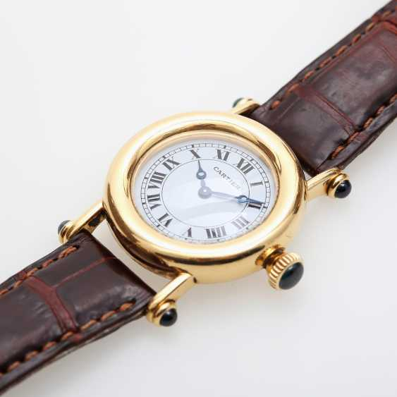 "CARTIER ""Diabolo"" Damenuhr, Gelbgold 18K. - photo 4"