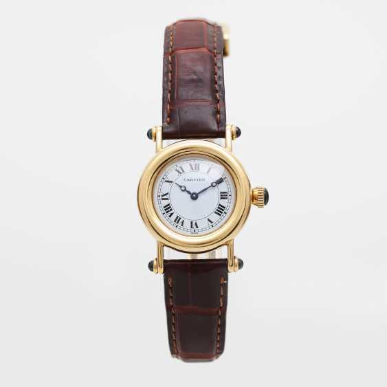 "CARTIER ""Diabolo"" Damenuhr, Gelbgold 18K. - photo 5"