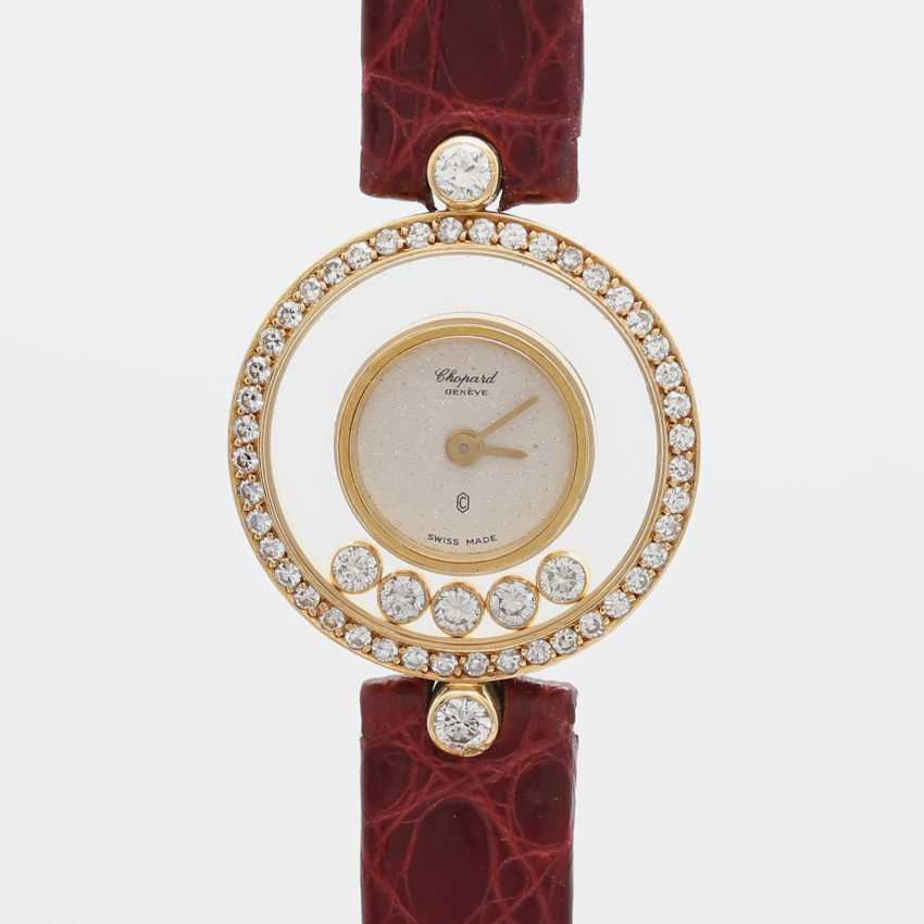 "CHOPARD ""Happy Diamonds"", Ref. 4052, ca. 1980/90er Jahre, Gelbgold 18K - photo 1"