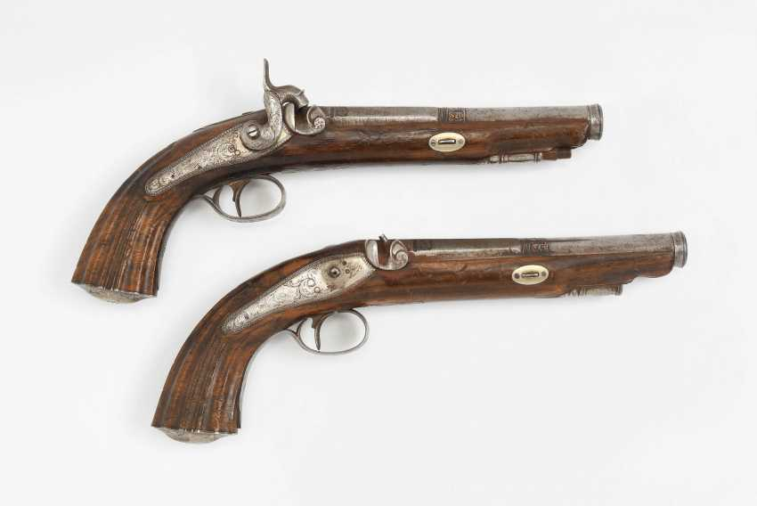 Perkussions-Pistolenpaar - Foto 1