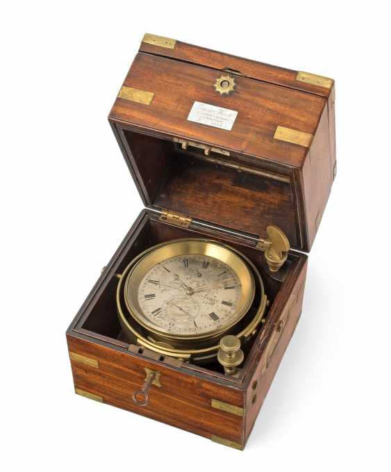 Ship's Chronometer, Lewis Woolf, Nr 5234 - photo 1