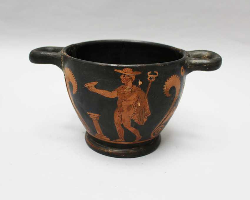 Greek Terracotta Vessel  - photo 1