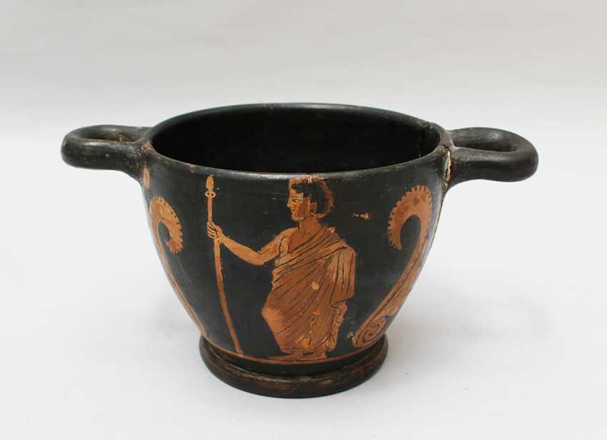 Greek Terracotta Vessel  - photo 3