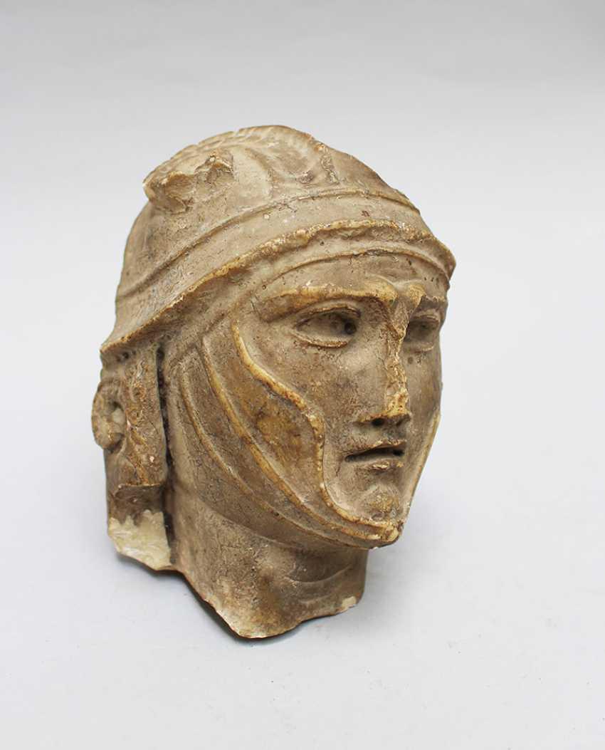 Male Stone Head - photo 1