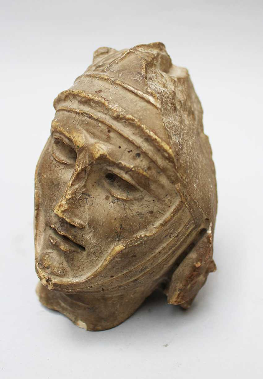 Male Stone Head - photo 3