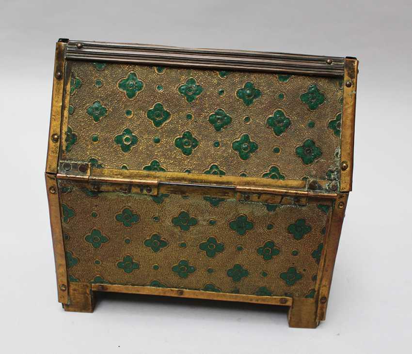 Limoges Enamel Casket in Medieval Manner - photo 3