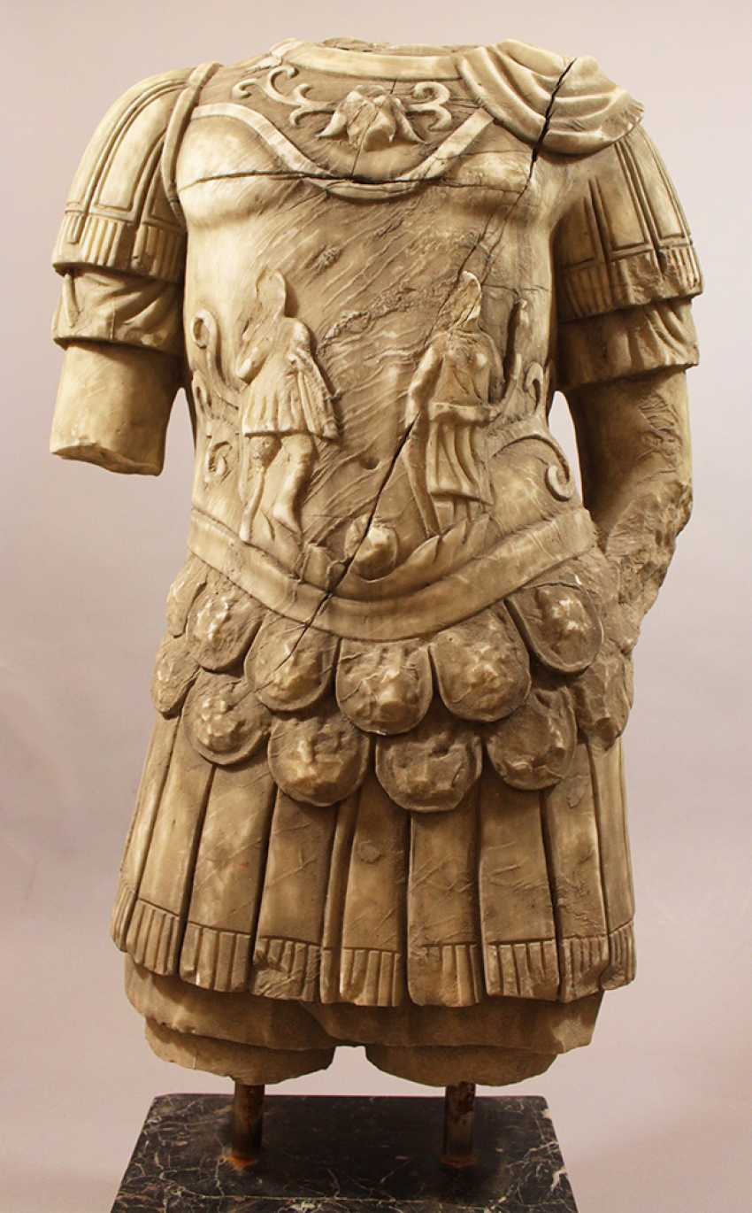 Large Marble Torso in Ancient Style - photo 2