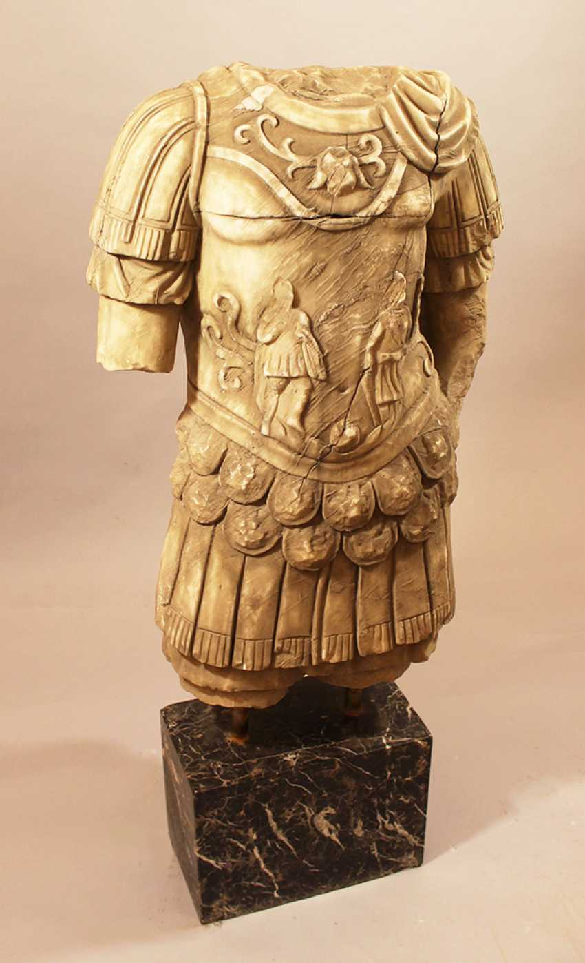 Large Marble Torso in Ancient Style - photo 3