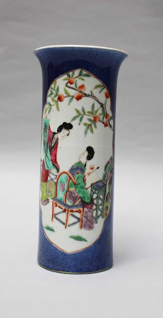 Small Kang Xi Vase - photo 1
