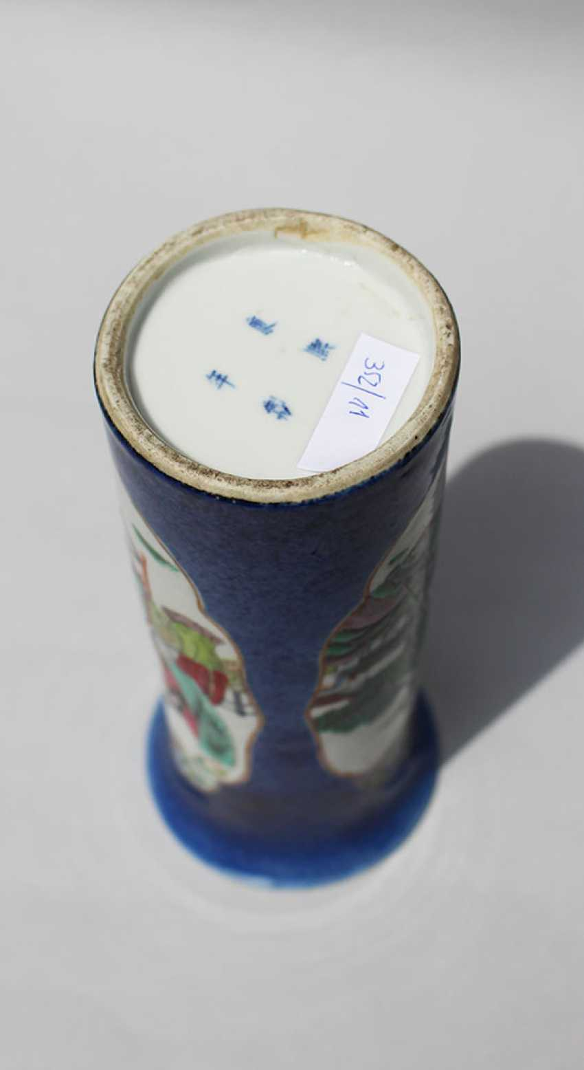 Small Kang Xi Vase - photo 3