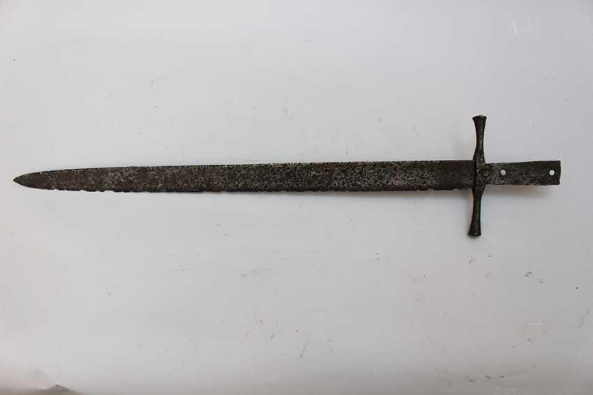 Medieval Iron sword - photo 2