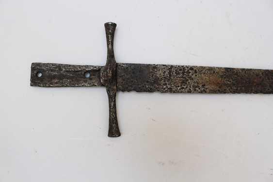 Medieval Iron sword - photo 3