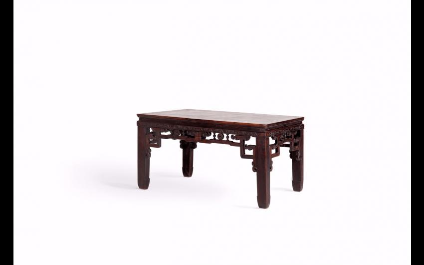 Table rectangular wood China - photo 1