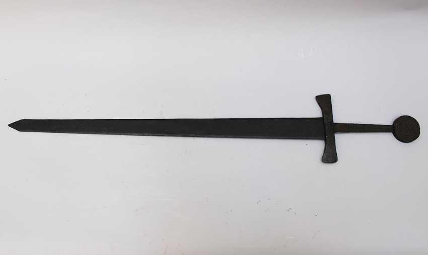 Medieval Iron Sword - photo 1