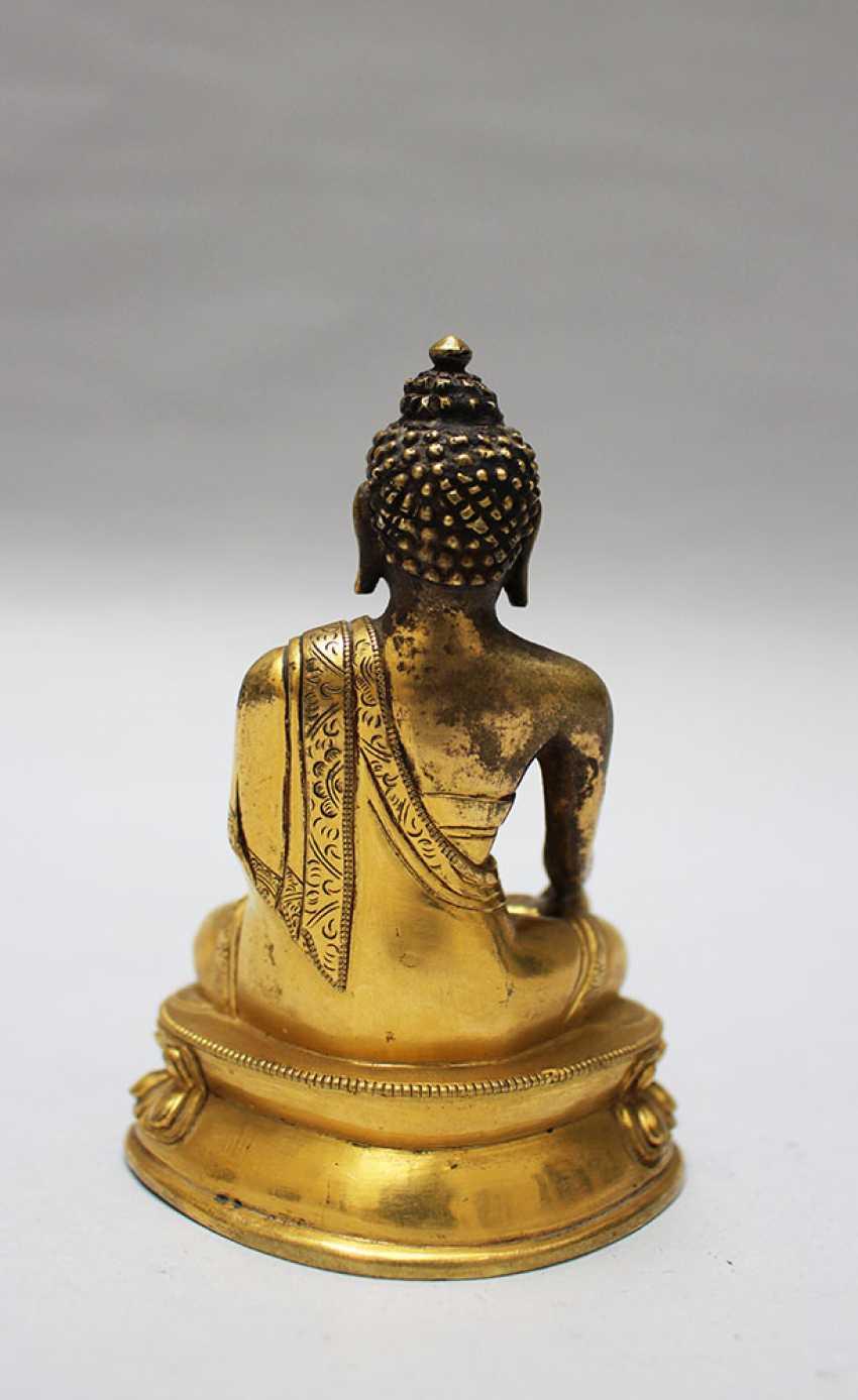 Chinese Bronze Buddha - photo 3