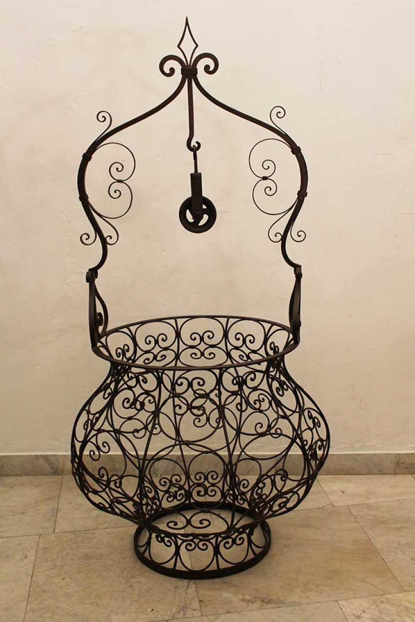 Venetian Iron Forged Fountain - photo 1