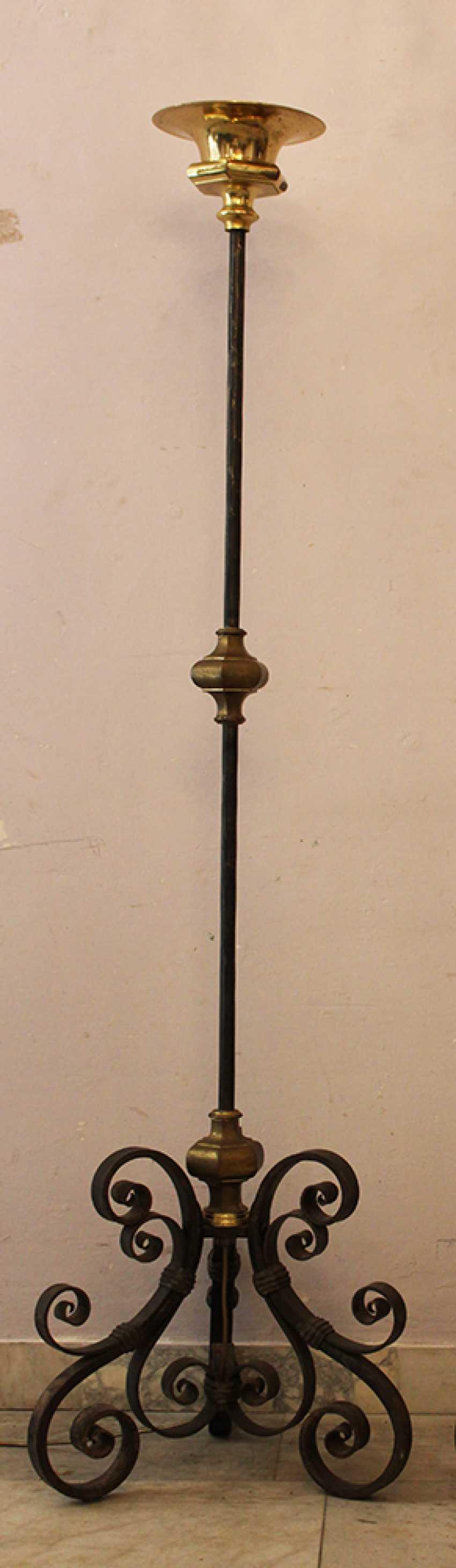 Pair of Spanish Iron Lighters  - photo 2