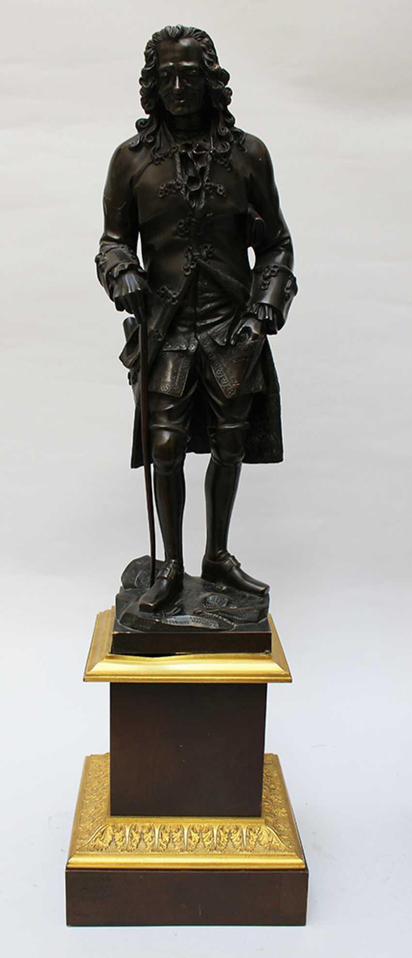 Francoise Voltaire (1694-1778), Jean Jacques Rousseau (1712 - 1778) - photo 2